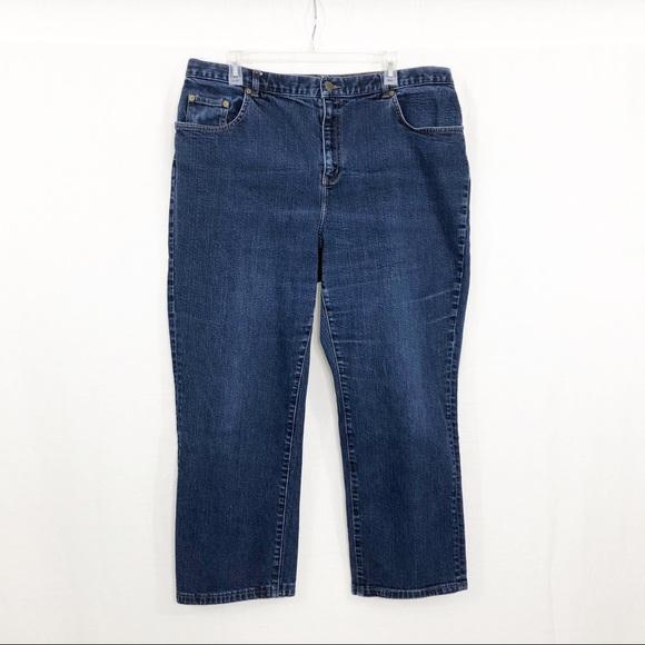 Ralph Lauren Jeans Co Straight Leg Jeans, 18W S